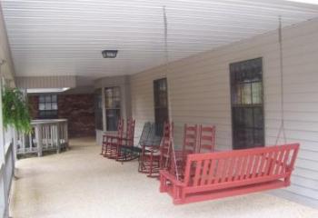 Creel House Porch